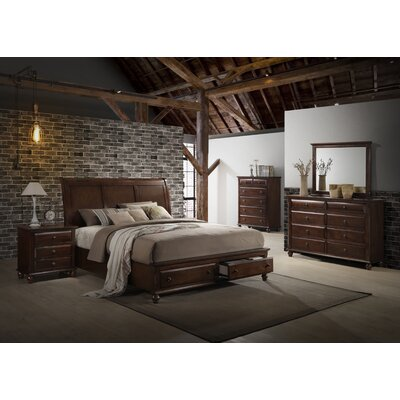 Lehigh Storage Panel 6 Piece Bedroom Set Size: King