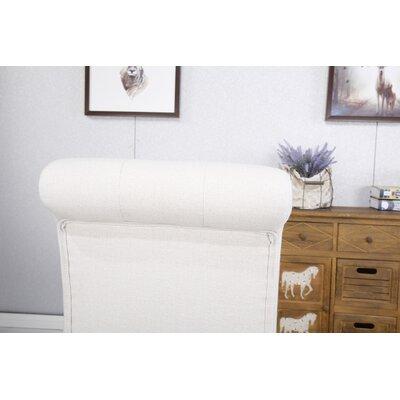 Ottoman 29 Bar Stool Upholstery: Tan