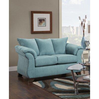 Norris Loveseat Upholstery: Capri