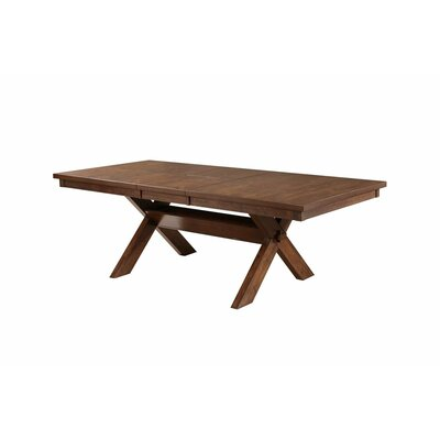 Isabell Acacia Butterfly Leaf Dining Table