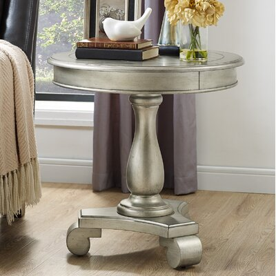 Annable End Table Color: Champagne