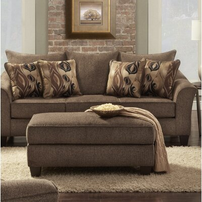 Driskill Arm Chair Upholstery: Brown