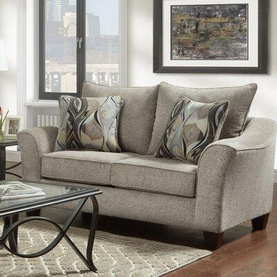 Driskill Loveseat Upholstery: Gray