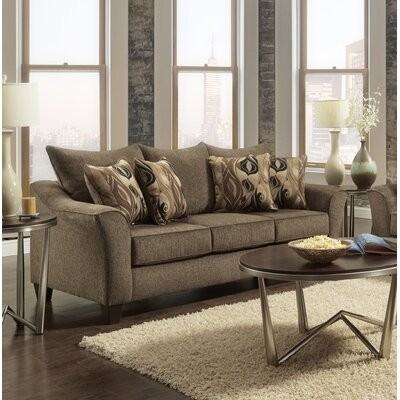 Driskill Sofa Upholstery: Brown