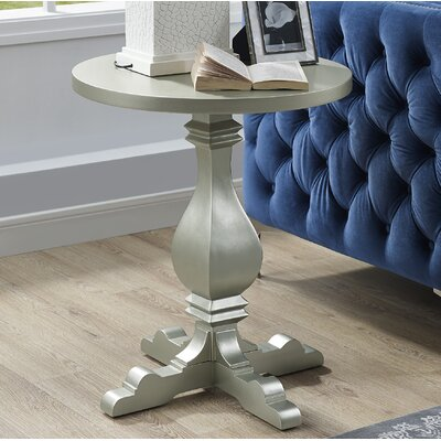 Wayland End Table Color: Champagne