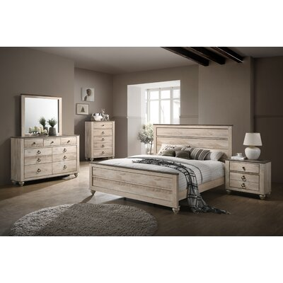 Manzano Panel 4 Piece Bedroom Set Size: King
