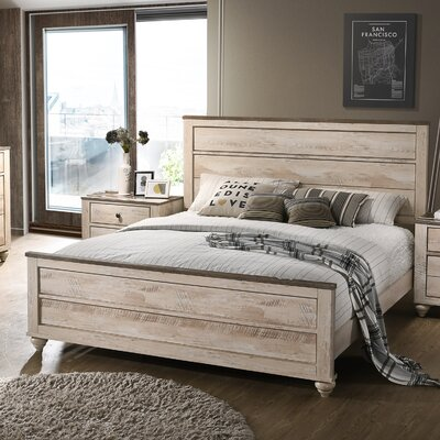 Manzano Panel Bed Size: King