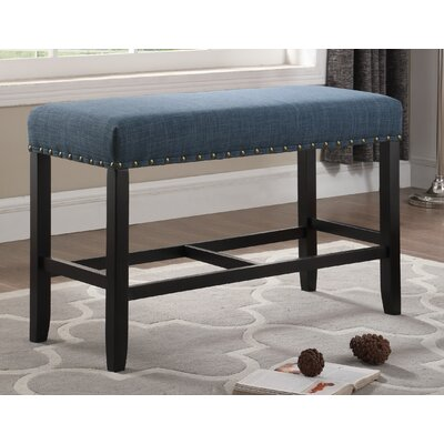 Amy Counter Height 6 Piece Pub Table Set Color: Blue