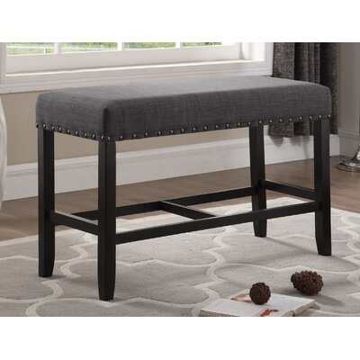 Amy Counter Height 6 Piece Pub Table Set Color: Gray