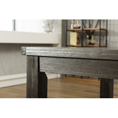 Bamey Wood Dining Table Size: 30 H x 64 W x 38 D