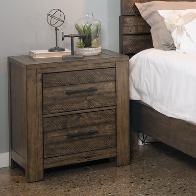 Emst 2 Drawer Nightstand