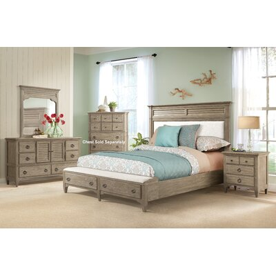 Manhart Contemporary Platform 4 Piece Bedroom Set Size: King