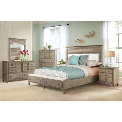 Manhart Platform 6 Piece Bedroom Set Size: King