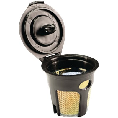 Refillable Cup Coffee Filter Color: Gold/Black SFILK3GOLD