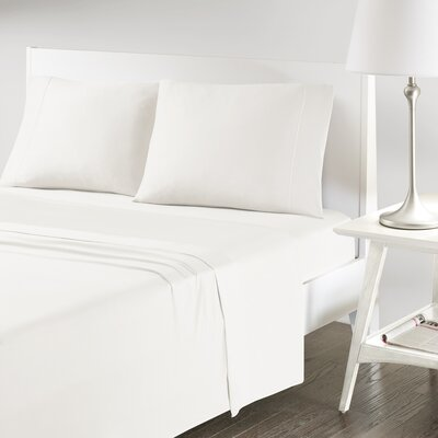 Verline Protech Performance Pillowcase Color: Ivory, Size: Standard