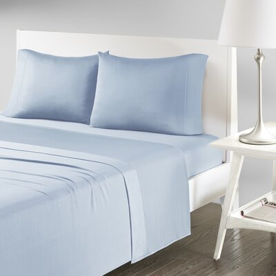 Verline Protech Performance Pillowcase Size: King, Color: Blue