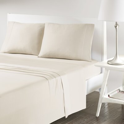 Verline Protech Performance Pillowcase Color: Sand, Size: King