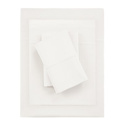 Kaye Moisture 4 Piece Sheet Set Size: King, Color: Ivory