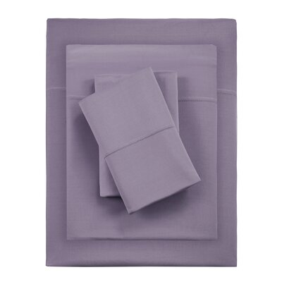 Kaye Moisture 4 Piece Sheet Set Size: Queen, Color: Plum