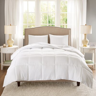 Copper Infused Microfiber Heavyweight Down Alternative Comforter Size: King/California King