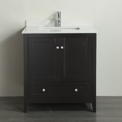 Lime 30 Single Bathroom Vanity Set