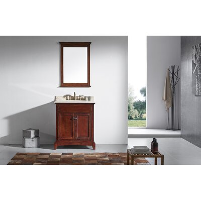 Elite Stamford� 30 Single Bathroom Vanity Set Base Finish: Brown