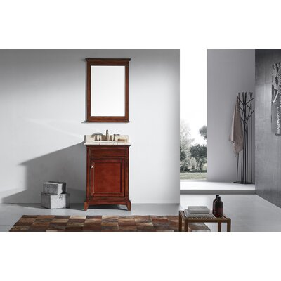 Elite Stamford� 24 Single Bathroom Vanity Set Base Finish: Brown
