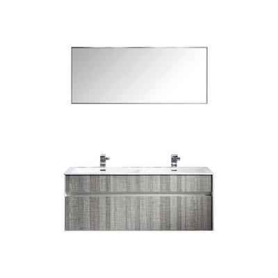 Ashy 48 Double Bathroom Vanity Set