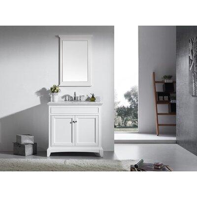 Elite Stamford� 36 Single Bathroom Vanity Set Base Finish: White