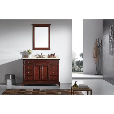 Elite Stamford� 48 Single Bathroom Vanity Set Base Finish: Brown