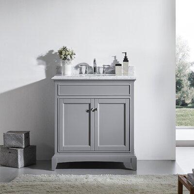 Elite Stamford� 30 Single Bathroom Vanity Set Base Finish: Gray