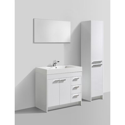 Lugano 36 Single Bathroom Vanity Set