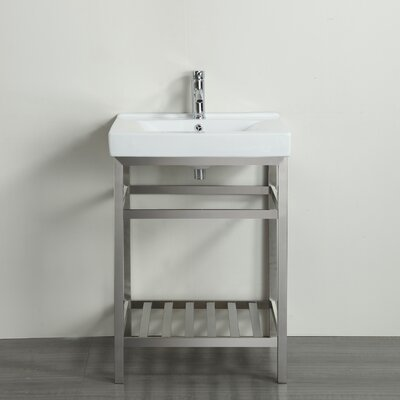 Stone 24 Single Bathroom Vanity Set