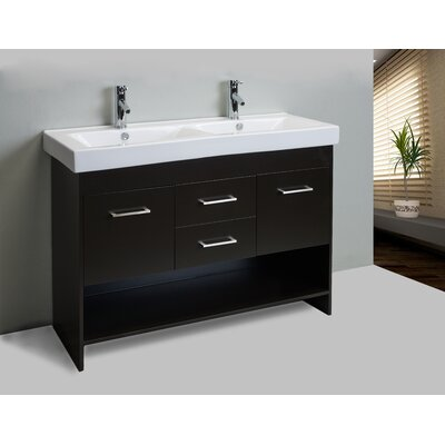 Nimesh 48 Double Bathroom Vanity Set