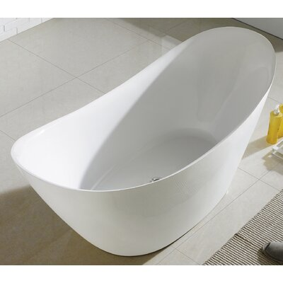 Lulu 68 x 29  Freesanding Soaking Bathtub