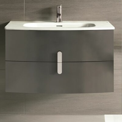 Cali 39 Single Bathroom Vanity Set Base Finish: Gray
