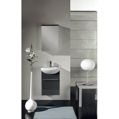 Venti 18 Single Bathroom Vanity Set Base Finish: Gray