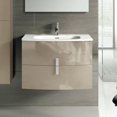 Cali 31 Single Bathroom Vanity Set Base Finish: Brown