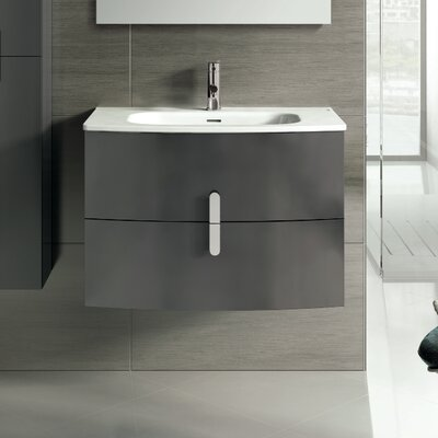 Cali 31 Single Bathroom Vanity Set Base Finish: Gray