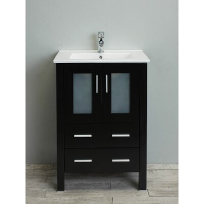 Vines 24 Single Bathroom Vanity Set