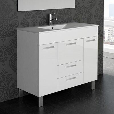 Venus� 36 Single Bathroom Vanity Set Base Finish: White
