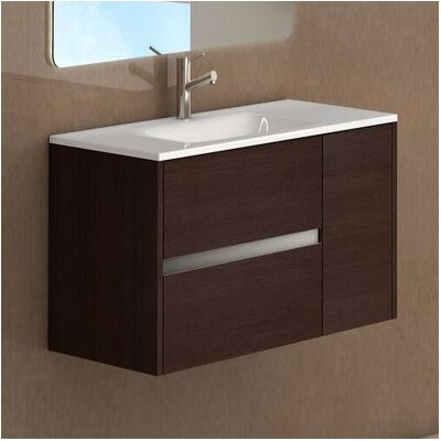 Aries 32 Single Bathroom Vanity Set Base Finish: Wenge