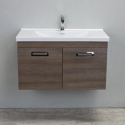 Orleans 38 Single Bathroom Vanity Set Base Finish: Wenge