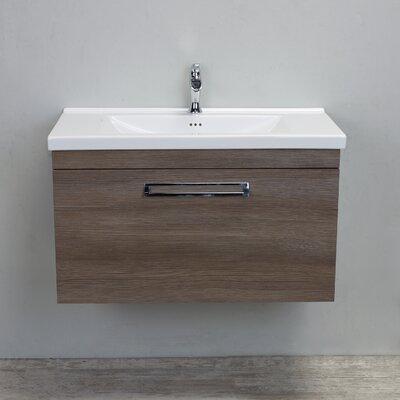 Orleans Modern 38 Single Bathroom Vanity Set Base Finish: Wenge
