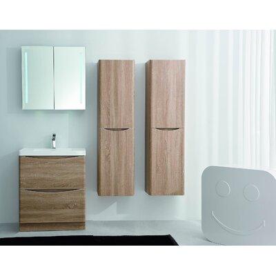 Blondene Floor Mount Modern 36 Single Bathroom Vanity