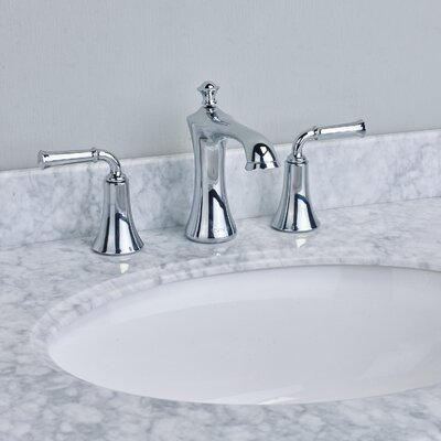Oceanbreeze� Double Handle Deck Mount Widespread Bathroom Faucet Finish: Chrome