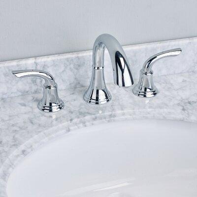 Friendy� Double Handle Deck Mount Widespread Bathroom Faucet Finish: Chrome