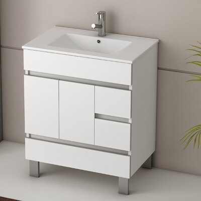 Piscis 32 Single Bathroom Vanity Set