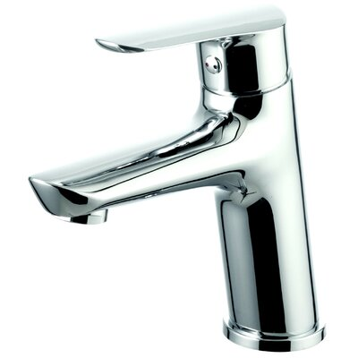 Serin� Single Hole Single Handle Bathroom Faucet Finish: Brushed Nickel