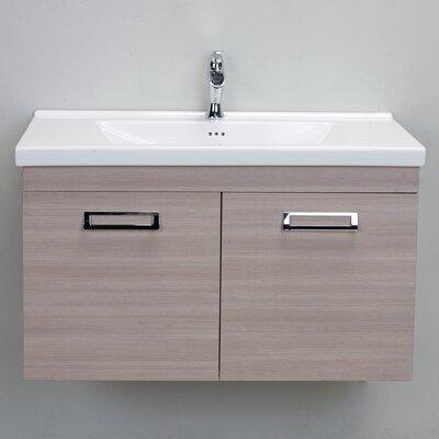 Orleans 38 Single Bathroom Vanity Set Base Finish: Light Oak